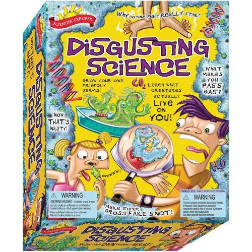 Scientific Explorers Disgusting Science Kit-