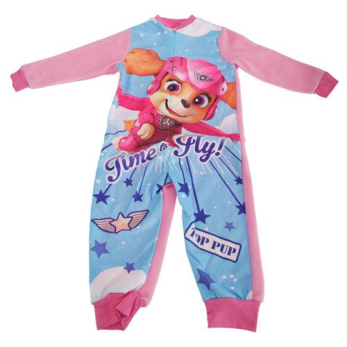 Paw Patrol Childrens Girls Skye Pyjama Sleepsuit