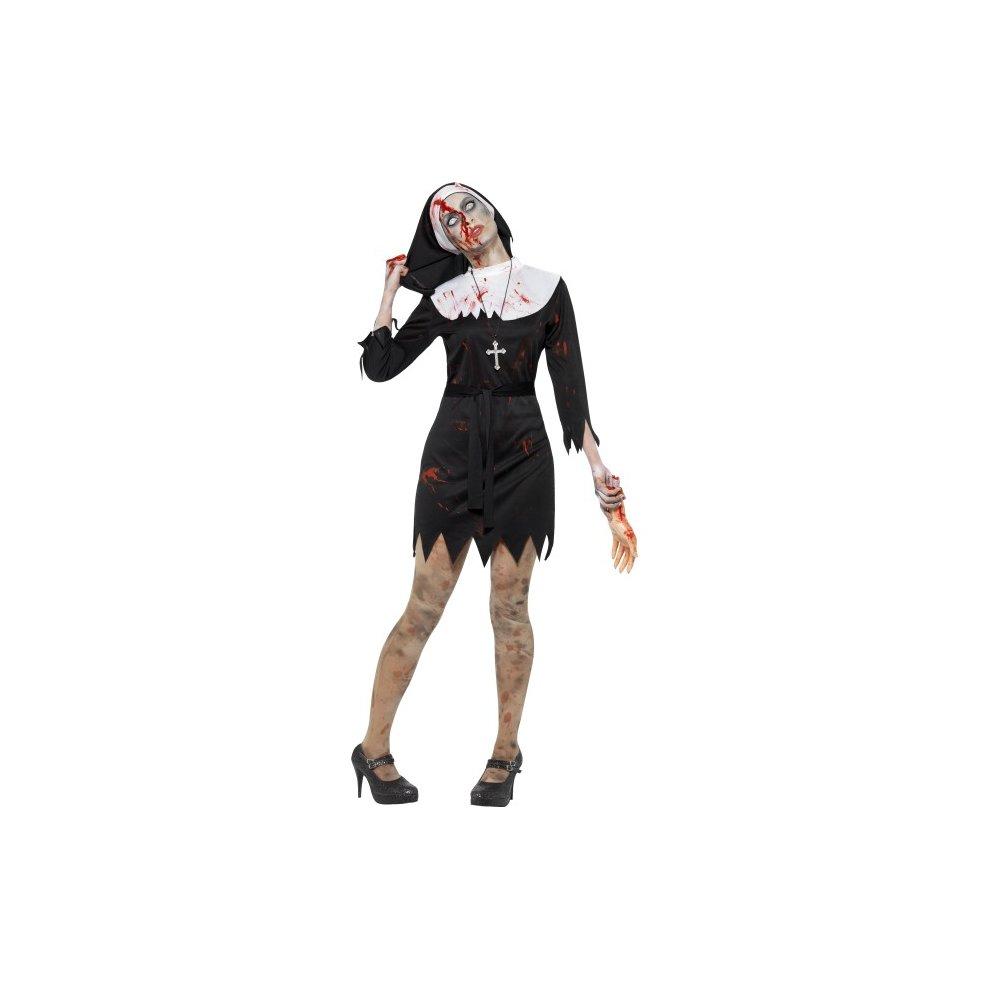 Costume Halloween Uk.Small Zombie Sister Nun Costume Halloween