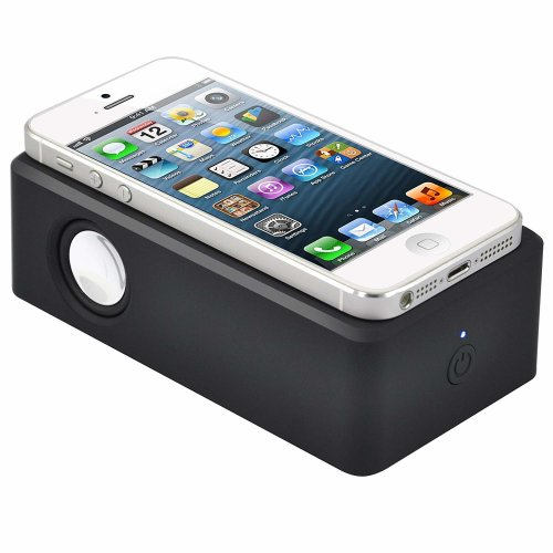 TRIXES Portable Wireless Induction Speaker For Smartphones