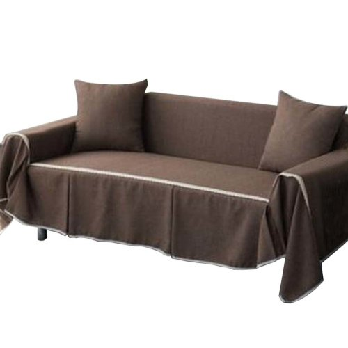3 Seat Sofa Slipcover Elegant Couch Cover Furniture Protector #20
