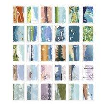 30PCS 1 Set Creative Postcards Artistic Beautiful Postcards, Home