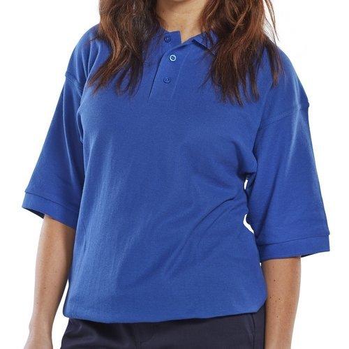 Click CLPKSR4XL Polo Shirt Royal Blue 4XL