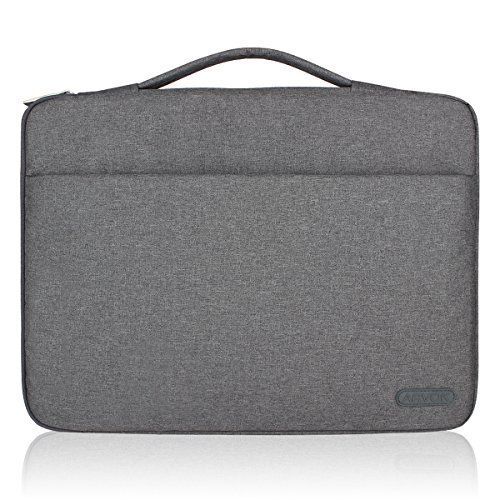 5824f3a6e9d6 Arvok 13 13.3 14 Inch Water-resistant Canvas Fabric Laptop Sleeve With  Handle & Zipper Pocket/Notebook Computer Case/Ultrabook Tablet Briefcase...