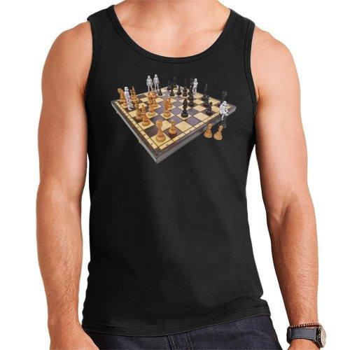 Original Stormtrooper Chess Board Men's Vest