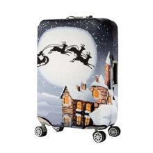 [Snow] Travel Case Luggage Suitcase Cover Dust Scratches Prevent Cover