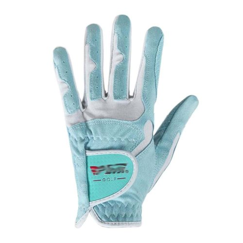 Classic Simple Design Women Golf Gloves Non-slip Sport Gloves(Blue) #18