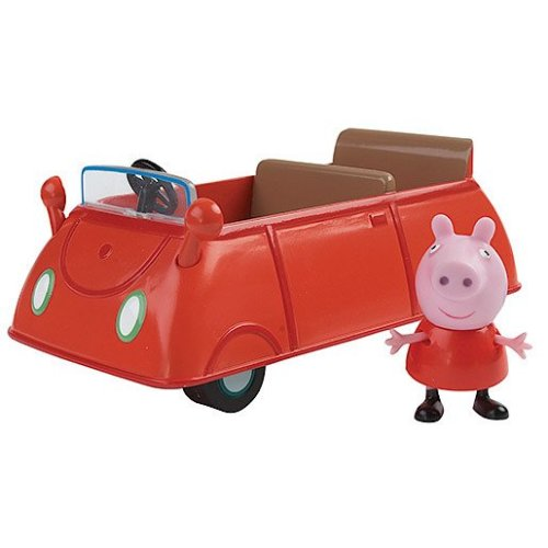 Peppa Pig Vehicle with Figure - Car