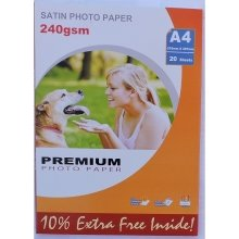 A4 240gsm Satin Photo Paper