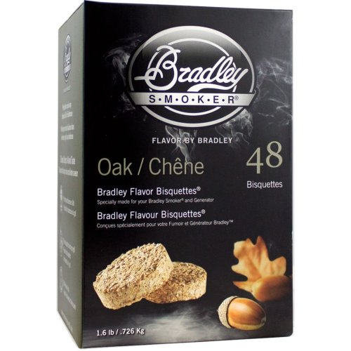 Bradley Smoker Oak Bisquettes - 48 Pack