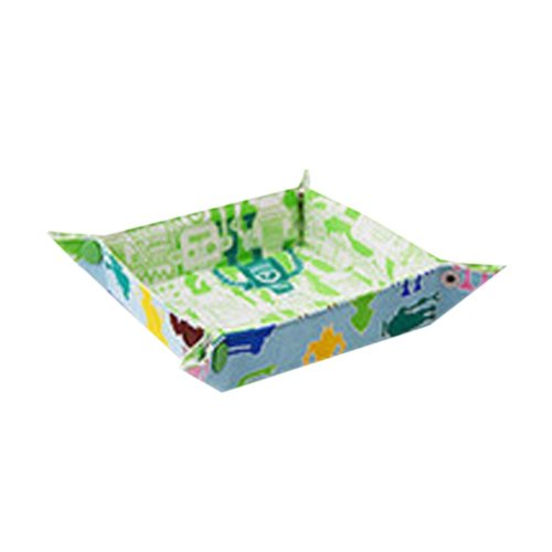 Cotton Desk Storage Organizer Box Basket Bin Placemat Pot Mat Robot On