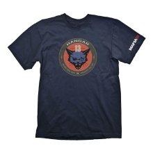 Mafia III Hangar 13 Mens T-Shirt - Blue M Size (GAYA-GE6059M)