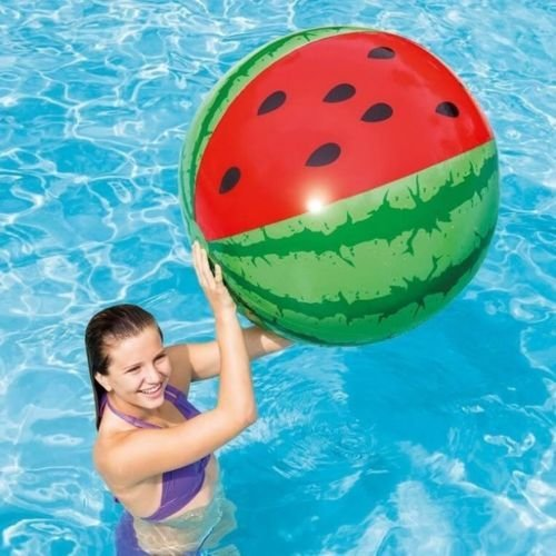 "42"" Intex Inflatable Giant Watermelon Beach Ball"