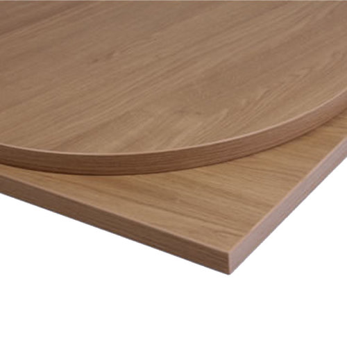 Taybon Laminate Table Top - Oak Square - 700x700mm