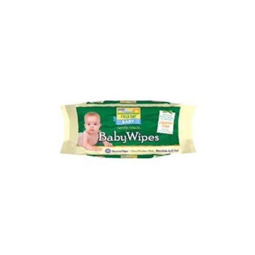 Baby Wipes Refill For Tub 72 ct -Pack of 12