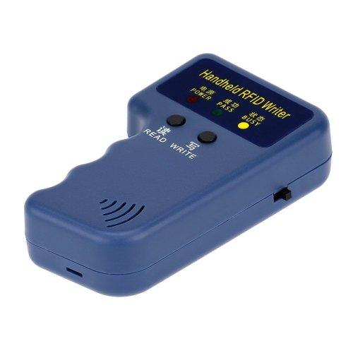 KKmoon RFID Reader Writer Copier Duplicater Handheld 125KHz RFID ID Card  Writer/Copier Duplicator + 10pcs Writable T5577 Cards