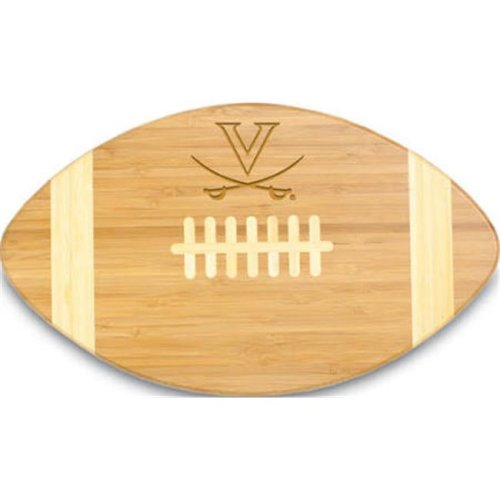 Picnic Time 896-00-505-593-0 University of Virginia Cavaliers Engraved Touchdown Cutting Board, Natural