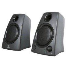 Logitech Z130 Speaker System Rich stereo sound - Black - 5W