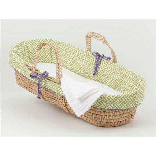 Cotton Tale PWB2 Periwinkle Moses Basket, Boy