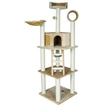 Trixie Montilla Scratching Post, 197 Cm, Beige - Tree New 43631 Heightcm Cats -  tree trixie scratching montilla beige new 43631 height 197 cm cats