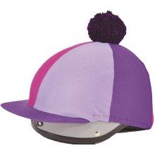 Spartan Lycra Hat cover with pom pom