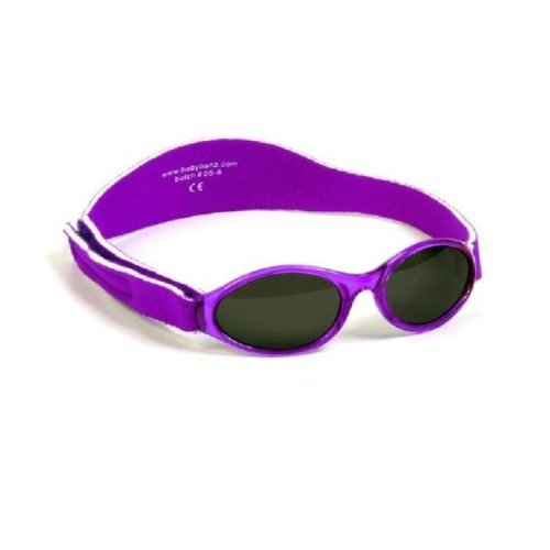 Baby Banz Kid's Abkpu Oval Sunglasses, Purple