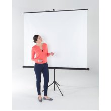 Tripod Projection Screen - Adjustable Format