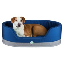 Insect Shield® Bed, 85 × 65 Cm, Taupe/navy - Trixie Shield Dog Bed Round -  trixie insect shield dog bed round taupenavy various sizes new