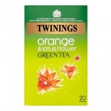 Twinings - Green Tea With Orange & Lotus Flower