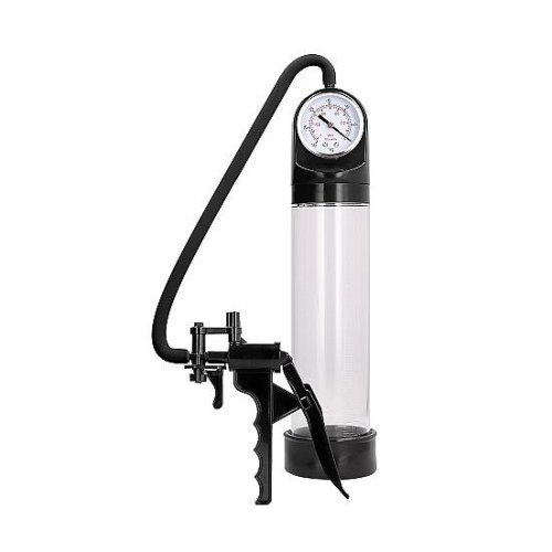 Elite Penis Pump With Advanced PSI Gauge - Transparent