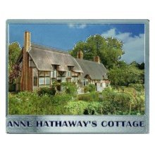Anne Hathaways Cottage Shakespeare Fridge Magnet Stratford Avon Souvenir Gift