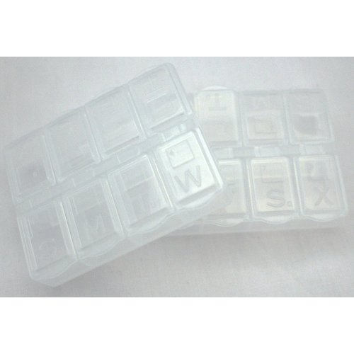 TravelSafe Pill Boxes - Pack of 2