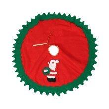 80cm Christmas Tree Skirt Snowman Xmas Tree Skirt Christmas Decoration