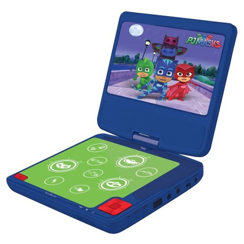Lexibook DVDP6PJM PJ Masks Portable DVD Player