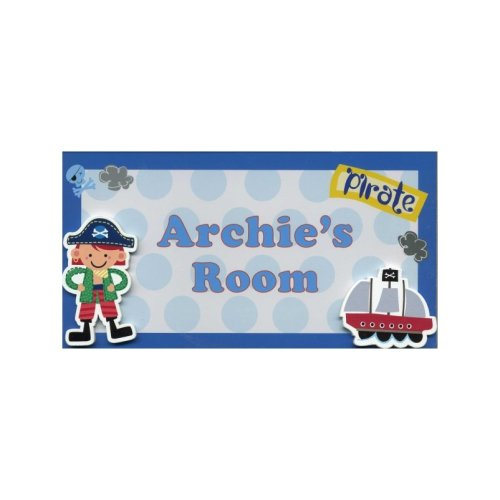 Archie My Room Sign