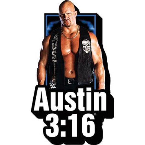 Magnet - WWE - Stone Cold w/Logo Funky Chunky New 95640