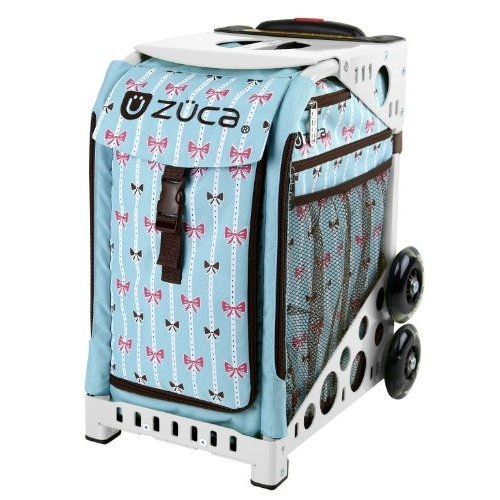 Zuca Bowz Sport Insert Bag Pink Blue and Brown for any Zuca Sport Frame insert only no frame