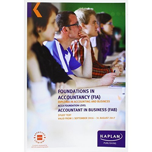 FIA Foundations in Accountancy - FIA Courses | Kaplan ...