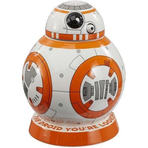 Star Wars BB-8 Ceramic Cookie Jar With Sound FX