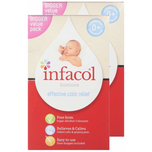 2pk Infacol Colic Relief Drops - 85ml | Anti-Colic Drops