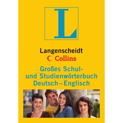 Langenscheidt Collins Großes Schulwörterbuch Englisch: Deutsch-Englisch