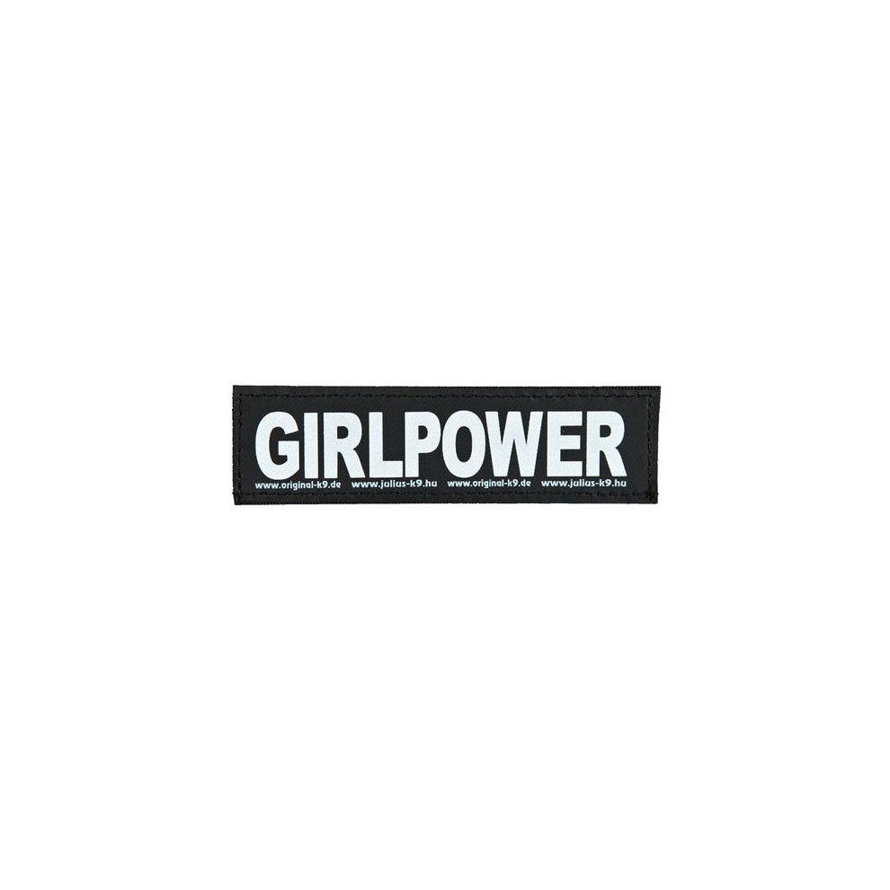 2 Juliusk9reg Hook And Loop Stickers S Girlpower