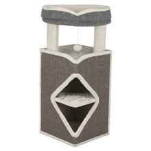 Trixie Cat Tower Cat Arma 98 cm – grey, Blue And Grey -