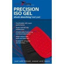 Uk 8-12 Large Unisex Iso Gel Heel Cushions - Precision Absorbing Pad Training -  precision heel iso gel absorbing pad training large
