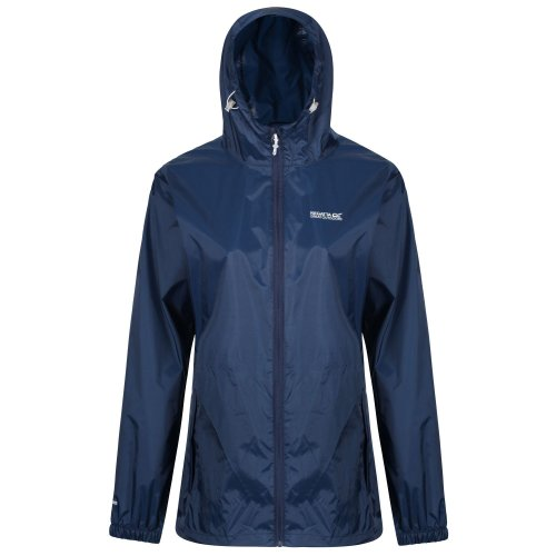 Regatta Womens Pack It III Waterproof Shell Jacket, Midnight, Size 16