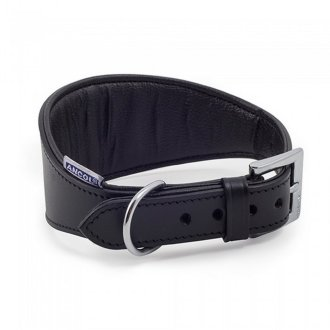 Ancol Leather Whippet Collar