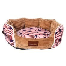 Luxurious Cotton Pet Bed/ Mats Cat/ Dog House Bed S- Red
