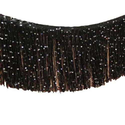 Solid Color Tassel Lace Dress Accessories Length: 9.84 Feet Width:0.32 Feet