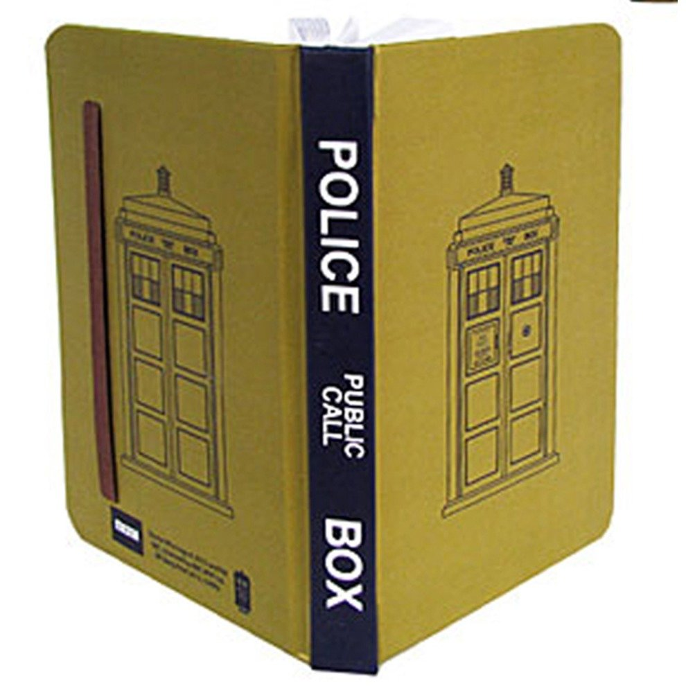 authentic doctor who official tardis mini journal on onbuy