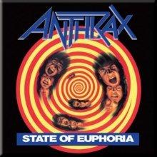 Anthrax State Of Euphoria Fridge Magnet.